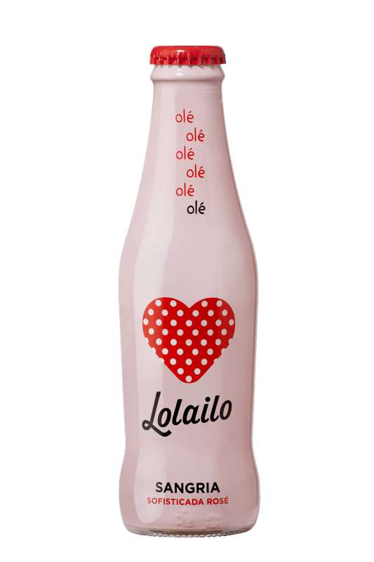 Mini Sangria rosée Sofisticada, Lolailo (20 cl)