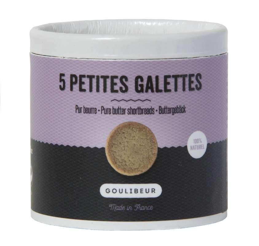 Mini tube 5 petites galettes tradition, Goulibeur (50 g)