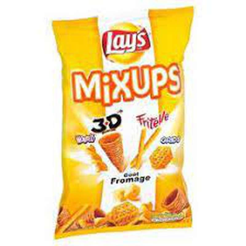Mixups 3D's goût fromage, Lay's (2 x 110 g + 10% OFFERT)