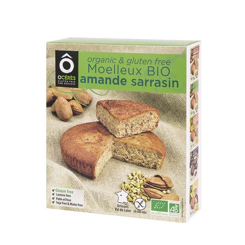 Moelleux Amande Sarrasin 3pers BIO sans gluten, Ô Cérès (145 g)