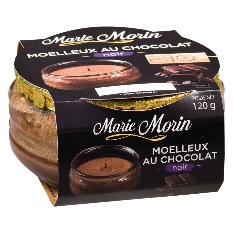 Moelleux au chocolat, Marie Morin (120 g)