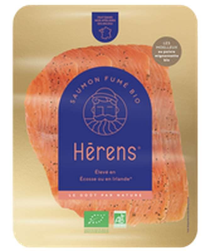 Moelleux de saumon fumé au poivre BIO, Herens (120 g)