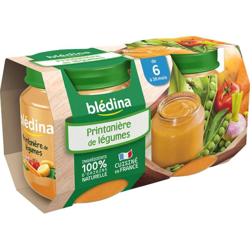 Petit pot printanière de légumes - dès 6 mois, Blédina (2 x 130 g)