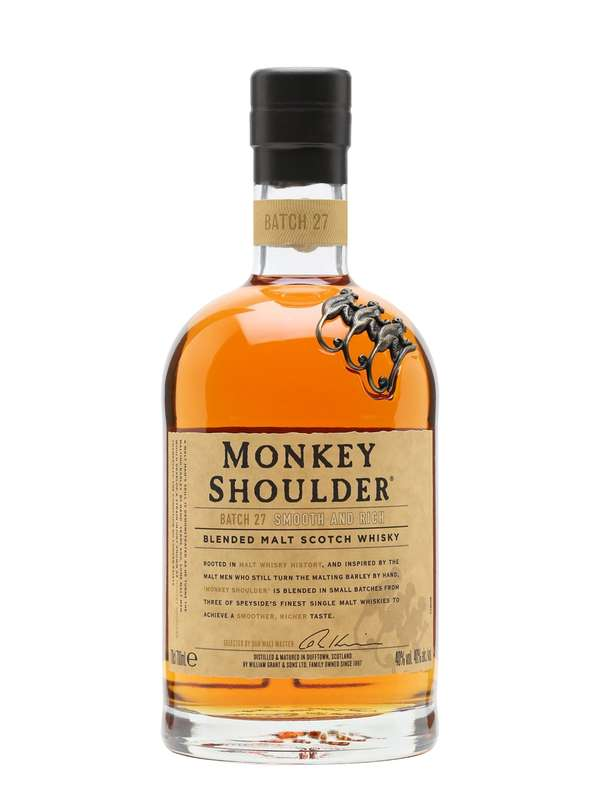 Whisky Triple Malt Scotch Monkey Shoulder (70 cl)