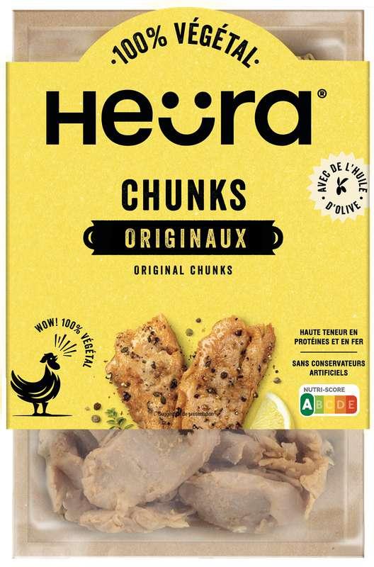 Morceaux de protéines végétales Chunks Originales, Heura (160 g)