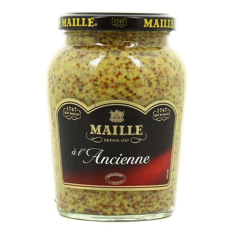 Moutarde à l'ancienne, Maille (380 g)