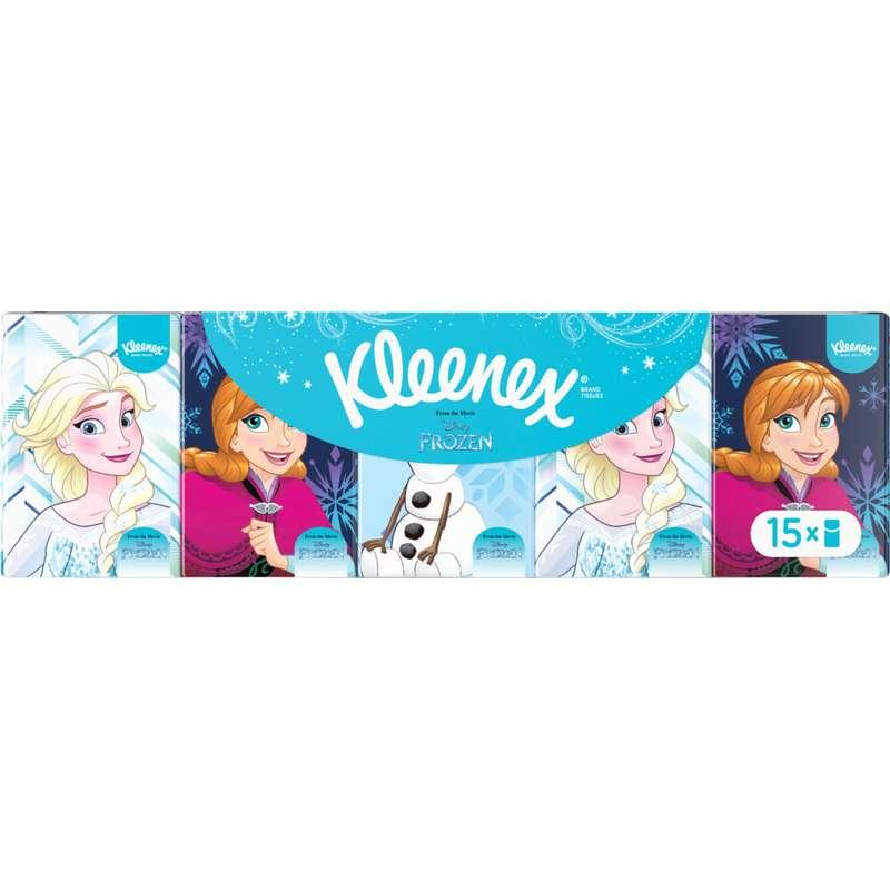 Etuis de mouchoirs Disney Wall-E, Kleenex (x 15)