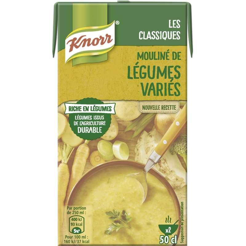 Mouliné de légumes variés, Knorr (50 cl)