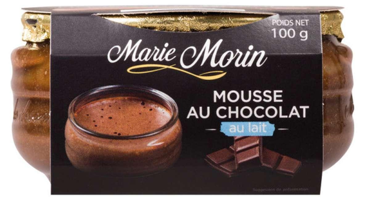 Mousse au chocolat au lait, Marie Morin (100 g)