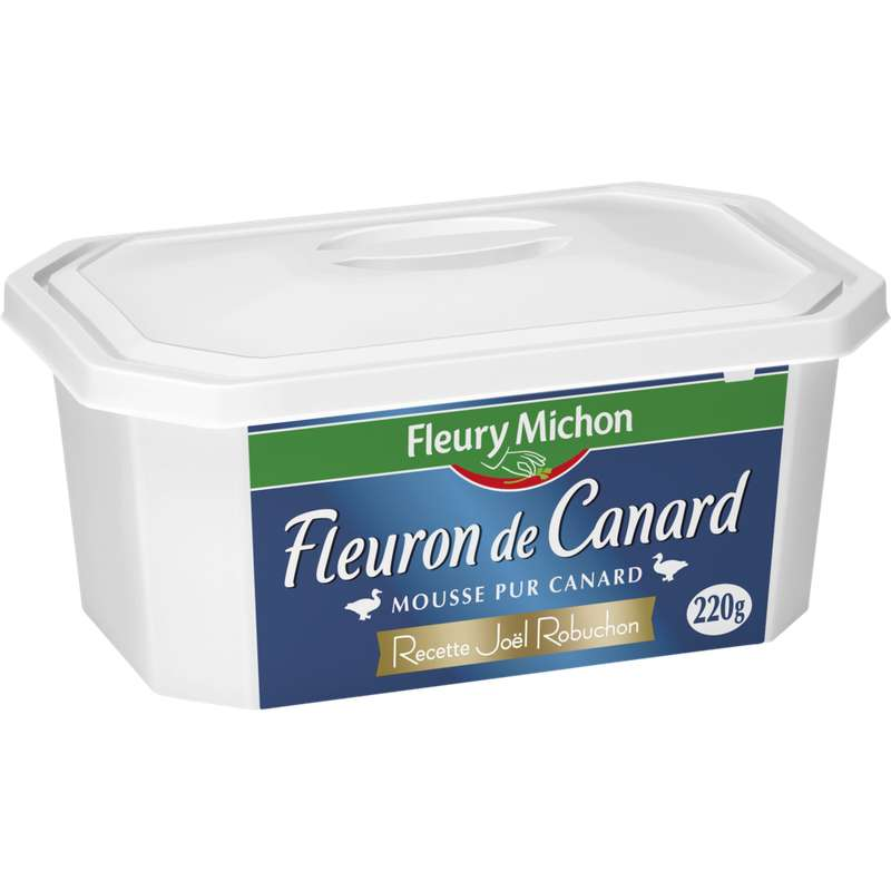 Le Fleuron de canard / recette de Joël Robuchon, Fleury Michon (220 g)