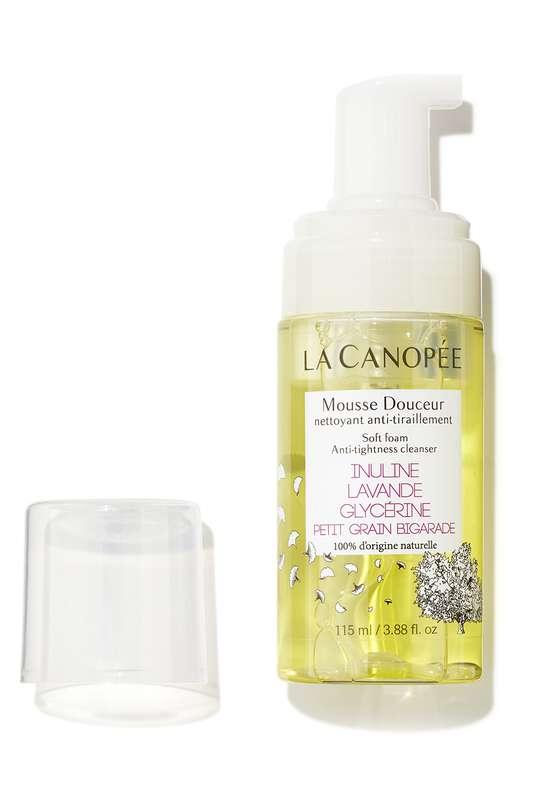 Mousse douceur nettoyant anti-tiraillement, La Canopée (115 ml)