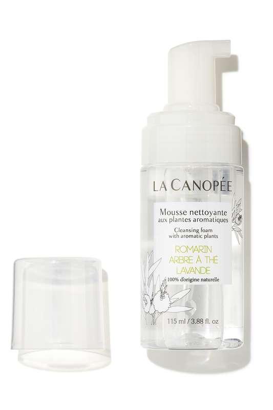 Mousse nettoyante aux plantes aromatiques, La Canopée (115 ml)