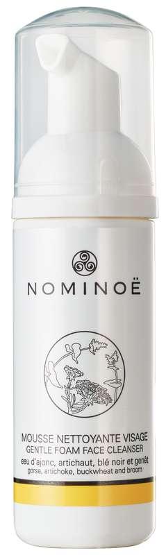 Mousse nettoyante démaquillante visage BIO, Nominoë (50 ml)