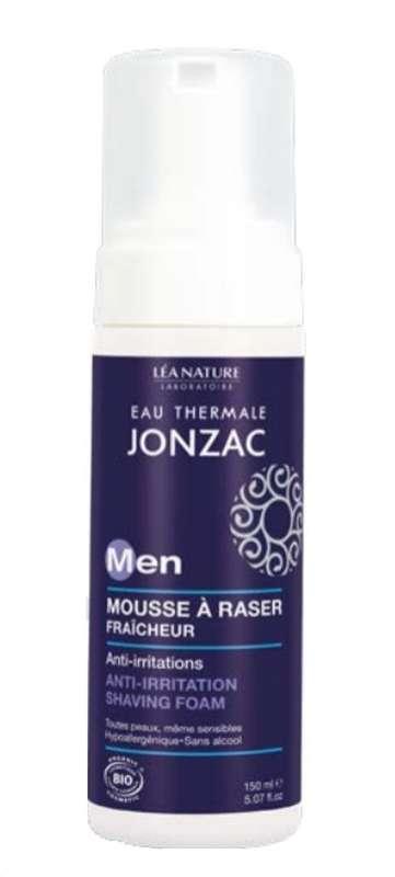 Mousse à raser anti-irritations For men BIO, Eau thermale Jonzac (150 ml)