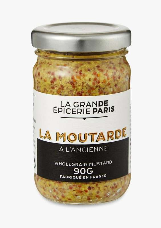 Moutarde à l'ancienne, La Grande Epicerie de Paris (90 g)