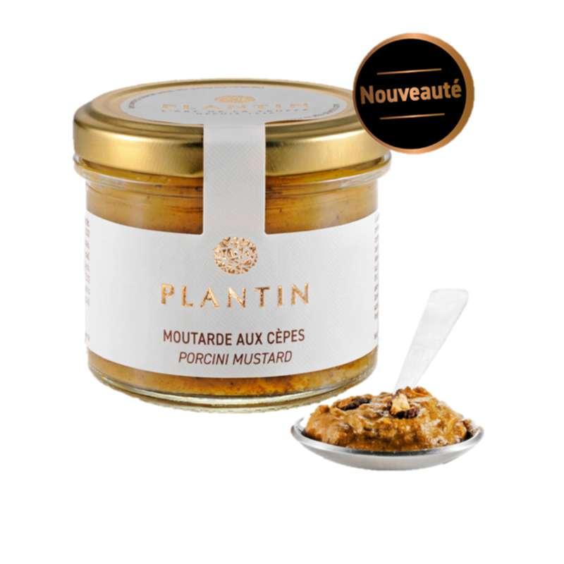 Moutarde aux cèpes, Plantin (110 g)