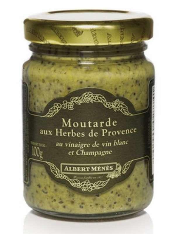 Moutarde aux herbes de Provence, Albert Ménès (100 g)