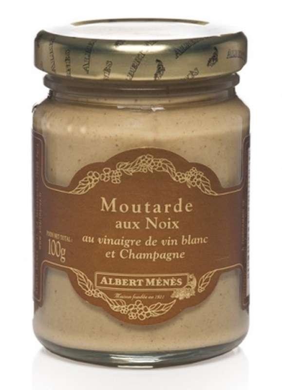 Moutarde aux noix, Albert Ménès (100 g)