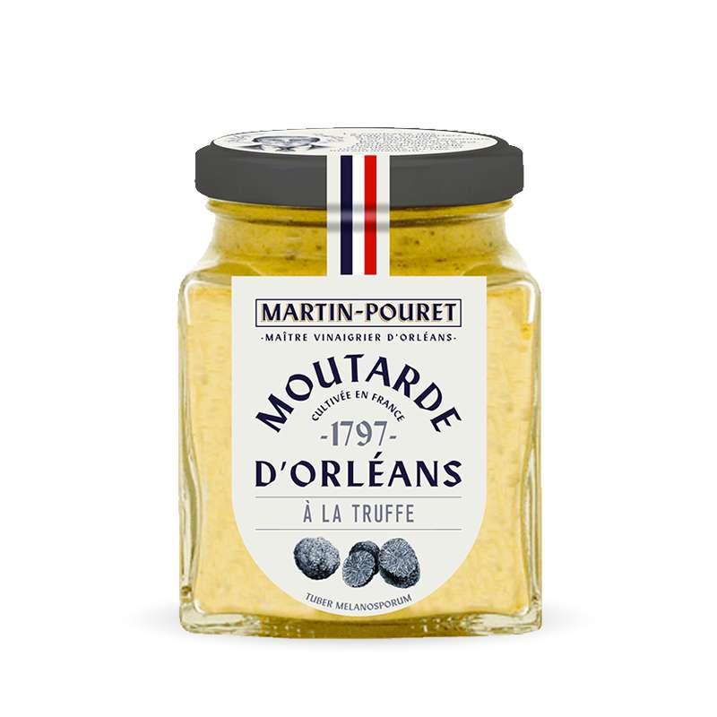 Moutarde d'Orléans à la truffe, Martin Pouret (200 g)