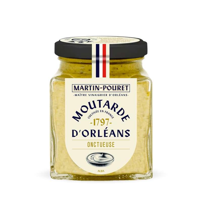 Moutarde d'Orléans Onctueuse, Martin Pouret (200 g)