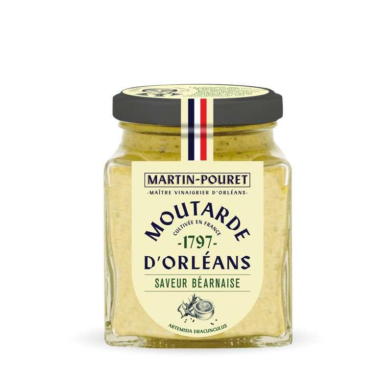 Moutarde d'Orléans saveur béarnaise, Martin Pouret (200 g)