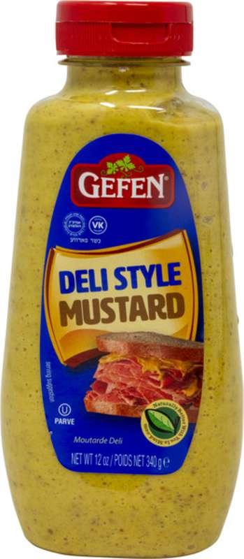 Moutarde Deli Style, Gefen (340 g)