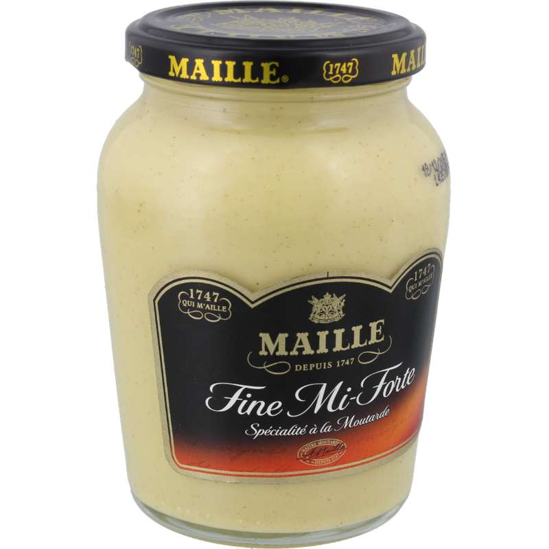Moutarde mi forte, Maille (355 g)
