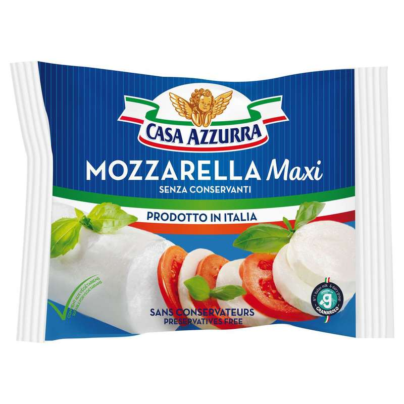 Mozzarella maxi, Casa Azzura (250 g)