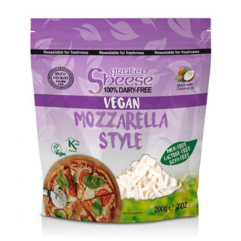 Mozzarella vegan rapée, Sheese (200 g)