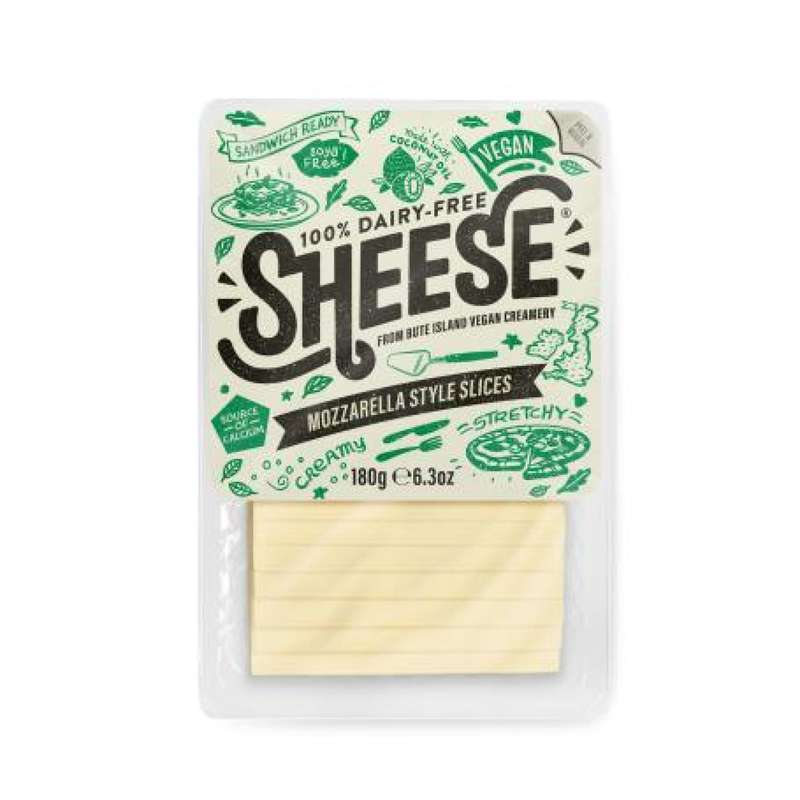 Mozzarella vegan tranchée, Sheese (180 g)