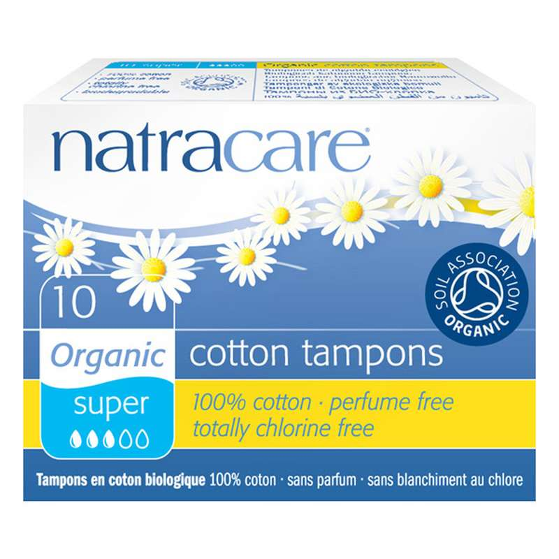 Tampon super sans applicateur, Natracare (x 10)