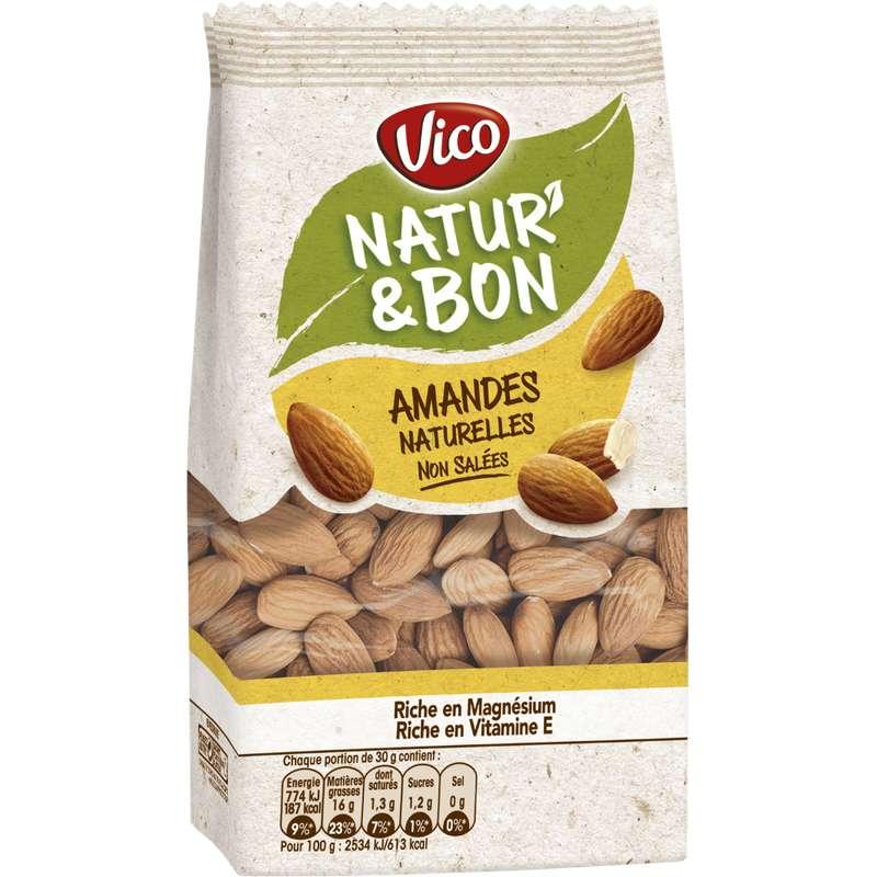 Natur' & Bon amandes non salées, Vico (200 g)