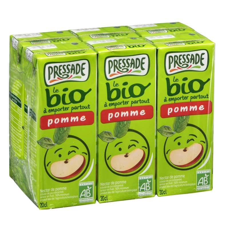 Pack de Nectar de pomme BIO, Pressade (6 x 20 cl)