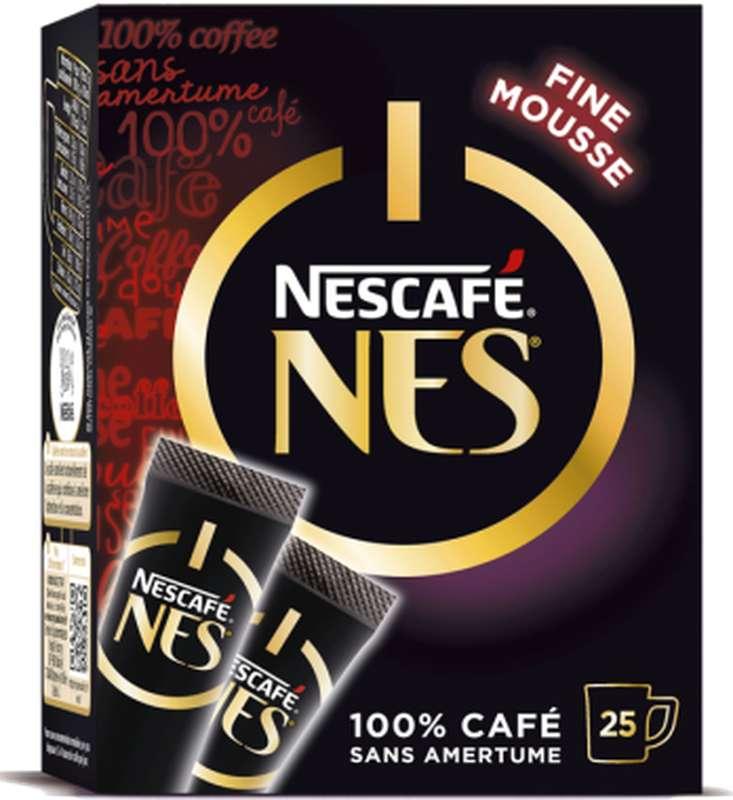 Café soluble Nes de Nescafé en sticks (25 x 2 g)