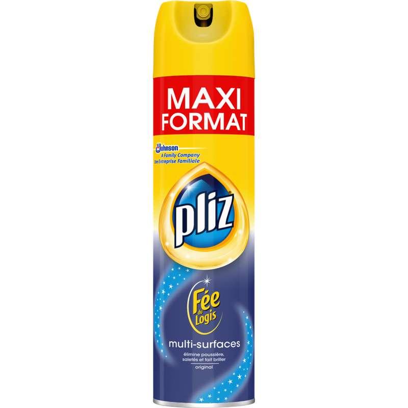 Nettoyant dépoussiérant fée du logis multi surfaces, Pliz (300 ml)