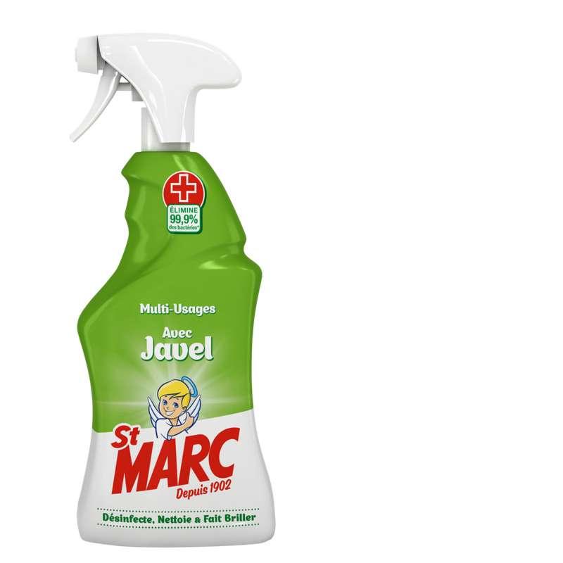 Nettoyant ménager désinfectant avec javel cuisine et salle de bain, St Marc (500 ml)