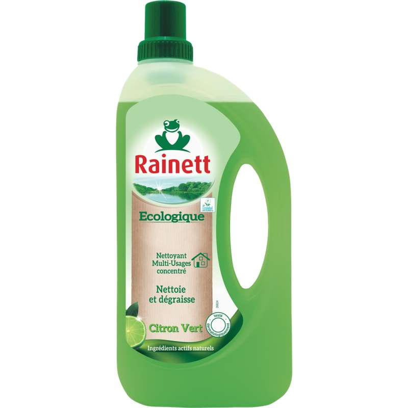 Nettoyant multi-usage parfum citron vert, Rainett (1 L)