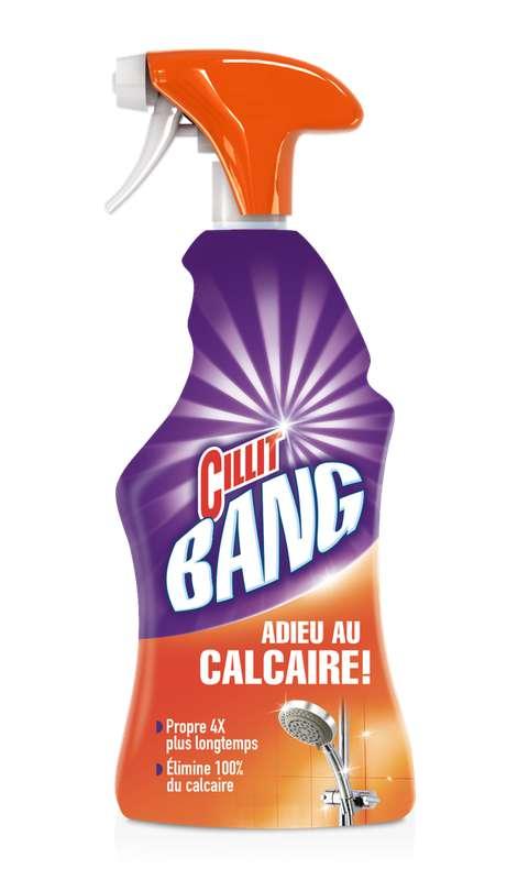 Nettoyant pistolet Adieu au calcaire, Cillit Bang (750 ml)