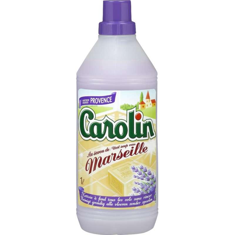 Nettoyant pour sols Fraîcheur de Provence au savon de Marseille, Carolin (1 L)