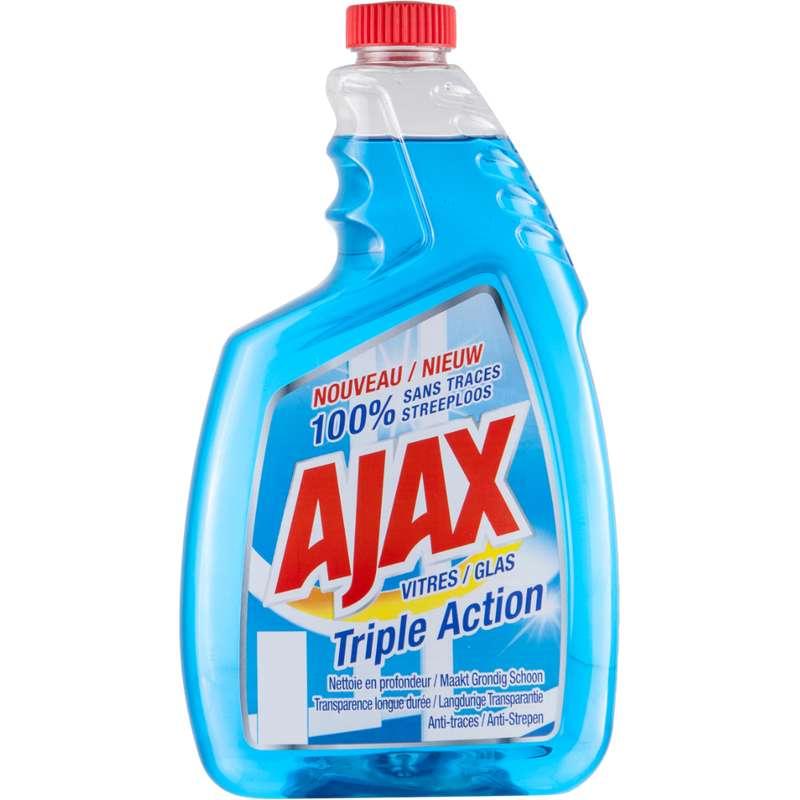 Nettoyant pour vitres recharge, Ajax (750 ml)
