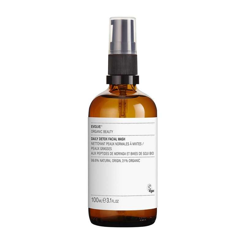 Nettoyant quotidien détox pour le visage BIO, Evolve (100 ml)