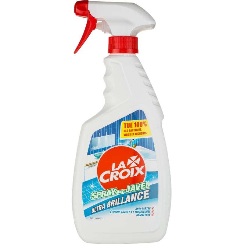Nettoyant salle de bain avec javel, La Croix (500 ml)