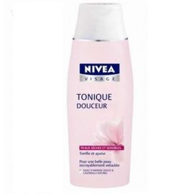 Lotion tonique hydratante pour peaux sèches, Nivea (200 ml)