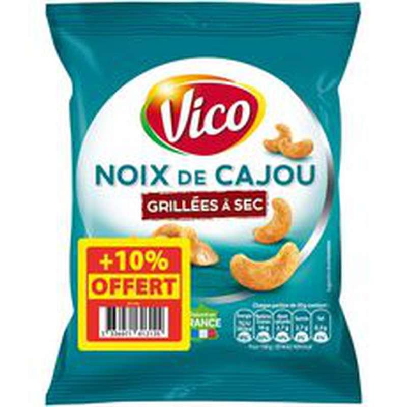 Noix de Cajou grillées à sec, Vico + 10% OFFERT (165 g)