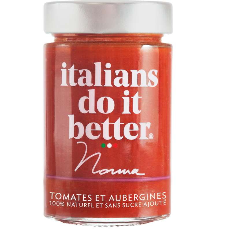 Sauce tomate et aubergine Norma, Italians do it better (190 g)