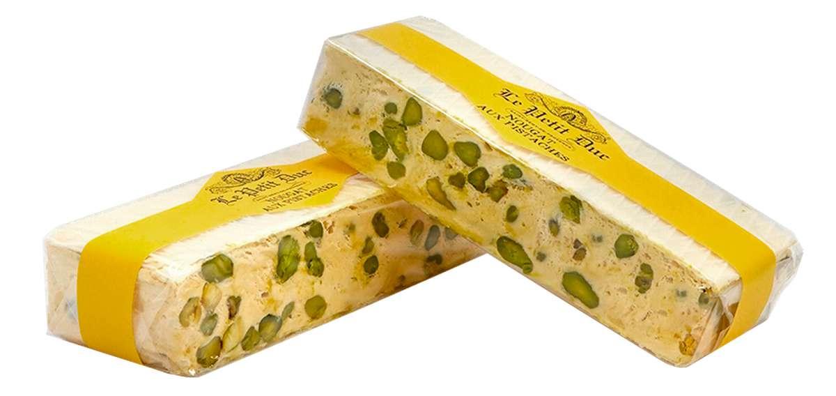 Nougat blanc aux pistaches, Le Petit Duc (100 g)