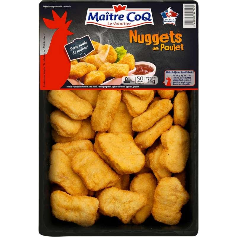 Nuggets de poulet, Maître Coq (x 50, 1 kg)