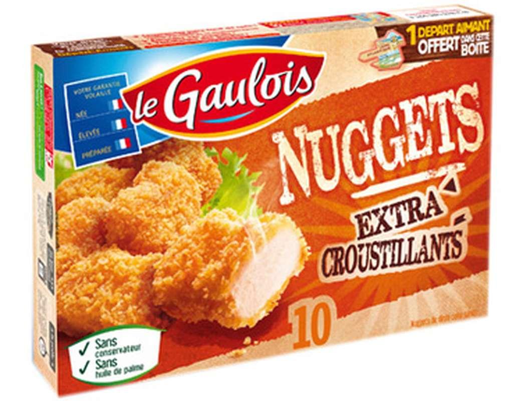 Nuggets de dinde extra croustillant, Le Gaulois (x 10, 200 g)