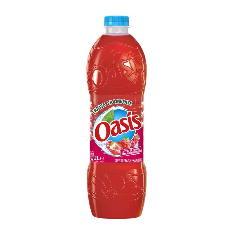Oasis Fraise-Framboise (2 L)