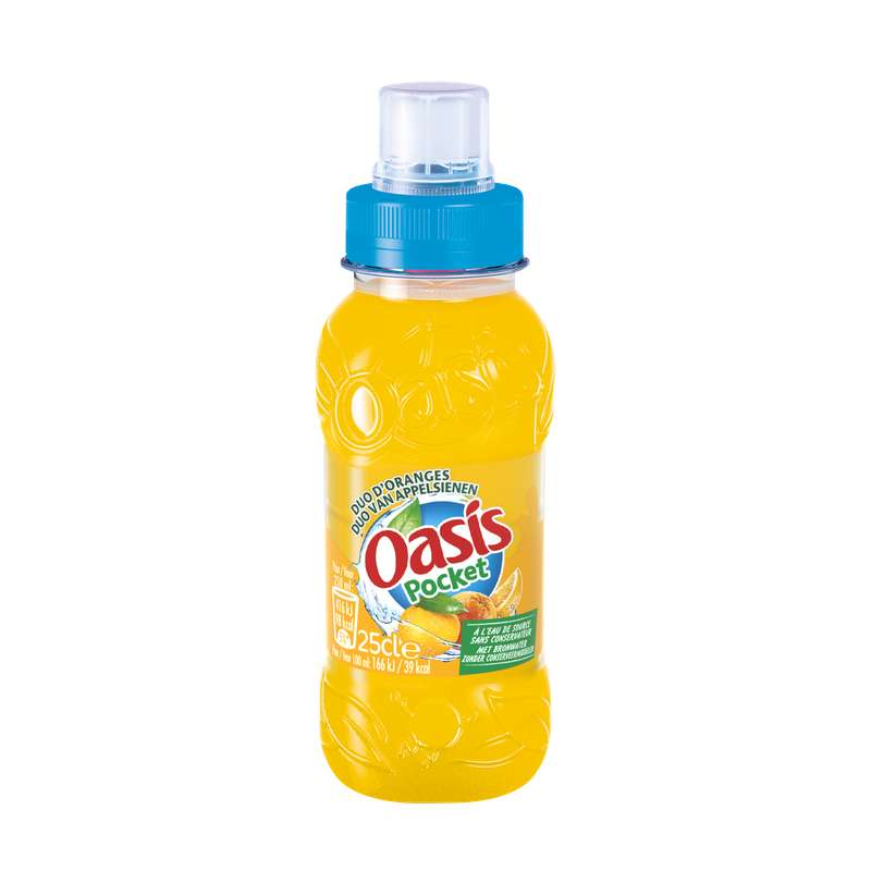 Oasis Orange pocket (25 cl)